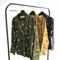 """BRANDY HAWAII BLOUSE (500thb) Free Size : bust up to 40"""" เสื้อเชิ้ตปกฮาวาย พิมพ์ชายดอกกุ้นขอบขาว ผ้าใส่สบายไม่บางค่ะ Color : เหลืองเข้ม (sold out)   เขียวขี้ม้า (sold out)   กรมท่า - - - - - - - - - - - - - - - - - - # ภาพของทางร้านถ่ายเองทั้งหมดจากสินค้าจริง  สอบถามเพิ่มเติม คลิก msg สอบถามร้านค้าได้เลยนะคะ"""