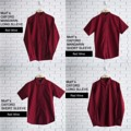 "RED WINE OXFORD SHIRT เสื้อเชิ้ตทรงสลิมฟิต ตัดเย็บอย่างดีจากผ้า Oxford ลักษณะเนื้อผ้ากึ่งลำลองกึ่งทางการ แมชได้กับทุกชุด รีดอย่างง่าย ยับอย่างยาก เรียบเท่อย่างมีสไตล์ มีมาให้เลือกทั้ง แขนยาว/แขนสั้น , คอจีน/คอปก ไว้ใส่ในตรุษจีนนี้กันค่า  Price: 390฿  Size: S,M,L,XL   S - Chest 38"" Length 29""  M - Chest 40"" Length 30""  L - Chest 42"" Length 31""  XL - Chest 44"" Length 32""   สอบถามรายละเอียดเพิ่มเติมได้นะคะ  แอดมินยินดีตอบทุกคำถามค่า ^^   #แดง #hcny #ตรุษจีน  #เสื้อสีพื้น #เสื้อเชิ๊ต  #MorfClothes"