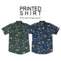 """Printed Shirt หรือ เสื้อลายพิมพ์เคยได้รับความนิยมแบบสุด ๆ ในช่วงยุค 70 มาแล้ว มาในปีนี้เสื้อลายพิมพ์กลับมาอินเทรนด์อีกครั้ง จะจับคู่ใส่กับกางเกงขาสั้นหรือขายาวก็ได้ทั้งนั้นค่ะ  Printed Shirt เสื้อเชิ้ต แขนสั้น พิมพ์ลาย แนวสตรีท ไม่ร้อน ทรงสวย ใส่สบายย มี2สีค่ะ (เขียวเข้ม,คราม)  จะใส่คู่กับกางเกงขาสั้น หรือขายาวก็ดีค่า  Price: 490฿ Size: S,M,L,XL  S ไหล่ 16"""" รอบอก 38"""" ยาว 29"""" M ไหล่ 17"""" รอบอก 40"""" ยาว 30"""" L ไหล่ 18"""" รอบอก 42"""" ยาว 31"""" XL ไหล่ 19"""" รอบอก 44"""" ยาว 32""""  สอบถามรายละเอียดเพิ่มเติมได้นะคะ  แอดมินยินดีตอบทุกคำถามค่า ^^  Instagram:  instagram.com/morf_clothes  Facebook:  www.facebook.com/morf.clothes  #เสื้อลาย #สนุ๊ก #snooker  #beachwear  #MorfClothes"""