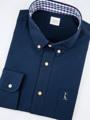 Style ▸ ORIGINAL // Men shirt // Slim fit - Button down collar   Embroidery ▸ Origami penguin  Color ▸ Navy  Material ▸ Made of 100% cotton, high quality and comfortable to wear. Decorated with Genuine wooden buttons, pocket with embroidery on it.  Model ▸ is wearing size -  Size chart ▸ https://dl.dropboxusercontent.com/u/66218545/pk_size_slim-01.jpg  Made by ✂ Imported fabric mostly from Japan and Korea, Manufacturing in Thailand  ----------------------------------------------------------------  ⟁⟁⟁⟁ ABOUT SHIPMENT ⟁⟁⟁⟁  ทางร้านจัดส่งสินค้าทุกวันอังคาร และศุกร์ โดยประมาณนะคะ เนื่องจากสินค้าบางชิ้นมีของอยู่ที่หน้าร้าน ทางจตุจักรเปิดให้เข้าในวันธรรมดาเพียงไม่กี่วัน ดังนั้นจึงจะต้องขอเวลาเข้าไปเอาสินค้า และจัดส่งเป็นอีกวันนึงแทนค่ะ  หากลูกค้ารีบใช้สินค้า เนื่องในโอกาสพิเศษต่างๆ ที่จำเป็นต้องได้รับสินค้าภายในวันที่กำหนดเท่านั้น ทางร้านต้องขอรบกวนสั่งสินค้าล่วงหน้าอย่างน้อย 1 สัปดาห์นะคะ สามารถกดสั่งซื้อ และกดส่งข้อความทางเวบไซต์เพื่อสอบถามได้เลย   ขอบคุณค่ะ :)