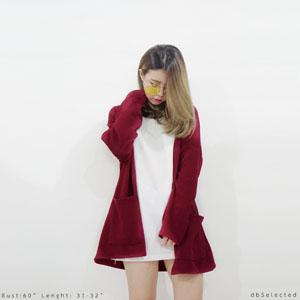 dbselected,ผู้หญิง,women,เสื้อคลุม,เสื้อคลุมทรงกิโมโน,เสื้อคลุมกิโมโน,เสื้อกิโมโน,กิโมโน,เสื้อคลุมสีแดง,สีแดง
