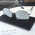 👓แว่นกันแดดทรง Round Metal เลนส์ Polarized ตัดแสง ป้องกัน UV400 น้ำหนักเบา ใส่ได้ทั้งชายและหญิง  👓สี : ปรอทเงิน  👓ขนาด  : 130 mm | 50-48-135 mm   👓ราคา 350 บาท  🌟แถมซองหนัง พร้อมผ้าเช็ดเลนส์  ✅ส่งฟรีแบบลงทะเบียน 🚚ส่งแบบ Ems +20 บาท  #แว่นทรงกลม #แว่นเลนส์ปรอทเงิน #UV400 #sunglasses  #Shoptome&Shoptoyou