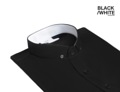 Black - collar short sleeve shirt  material : cotton fabric color : black price : 890 THB  Unique from #GROUNDER
