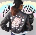 "💘💘💘💘 🐯Wild Child Bomber 🐯 อก 42"" เอว 34"" ตัวยาว 20"" แขนยาว 23"" แจคเกตบอมเบอร์ ผ้าออแกนดี้ ขอบทอยางยืดสีพิเศษกลิทเตอร์ ปักเฟอร์เปนลายWild Childด้านหลัง  💕💕💕💕💕💕 Size : Freesize Price : 2990 THB 💕💕💕  #Daddyandthemuscleacademy #women #ผู้หญิง #เสื้อผู้หญิง #เสื้อผ้าผู้หญิง #เสื้อคลุม #เสื้อยีนส์ #แจ็คเก็ต #jacket"
