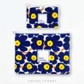 UNIKKO Holder Clutch กระเป๋าถือทรงคลัชท์-แฟ้มสำหรับใส่ของต่าง ตัดเย็บด้วยผ้า marimekko ลายยอดฮิต mini-unikko ผ้าของแท้จากชอป กระเป๋ามีลักษณะเป็นทรงและบุฟองน้ำ ใส่ได้ทั้งแฟ้มกระดาษและอุปกรณ์gadget อื่นๆ - ใช้ผ้า marimekko ของเเท้ ด้านหลังเป็นผ้า canvas ชนิดหนา - ขนาด 36 x 27 ซม. (ใส่กระดาษ A4 ได้ ) - ด้านในมีช่องสำหรับโทรศัพท์ เเละปากกา - ภายในบุฟองน้ำเเละผ้าPVC คุณภาพดี เพื่อให้กระเป๋าเเข็งเเรงทนทาน 790 บาท   Mini UNIKKO Holder case for your everyday life. This lovely case is designed with an Authentic Mini-Unikko fabric from marimekko.  - marimekko cotton fabric & canvas - size : 36 x 27 cm (good for A4 and 13in laptop) - small pockets inside for phone and pens - high quality pvc and shockproof sheets interior  #marimekko #marimekkothailand #กระเป๋า #กระเป๋าผ้า #แฟ้ม #clutch  #CasualTheory
