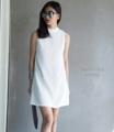 "Sale!!!!(hot)  Chanel Shift Dress    สี ดำ ขาว  อก36"" เอว34""  สะโพก38"" ยาว32"""