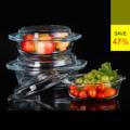 **ราคาปกติ 1,860 บาท  PRIM ชุดกล่องแก้วถนอมอาหาร เซท 4 ชิ้น ทรงกลม Glass Food Container, Round Casserole Set รหัสสินค้า : 8388GF020980  - ผลิตจากแก้วบอโรซิลิเกตเป่าปาก เนื้อหนา - ทนต่อการกระแทกได้ดีกว่าแก้วทั่วไปถึง 3 เท่า - ทนต่อความร้อนและการเปลี่ยนแปลงอุณหภูมิได้สูง - ฝาปิดแก้วบอโรซิลิเกตเป่าปาก เนื้อหนา - ปราศจากสารก่อมะเร็ง (BPA free) ไม่เป็นอันตรายต่อสุขภาพ - ไม่ติดสี ไม่ติดกลิ่น ทำความสะอาดง่าย ไร้กลิ่นอับชื้อ - ใส่ได้ทั้งอาหารร้อนและเย็น ที่มีอุณหภูมิตั้งแต่ -4 ถึง 230 องศาเซลเซียส - ใส่อาหารร้อนด้วยอุณหภูมิ 120 องศาเซลเซียส แล้วนำเข้าตู้เย็นได้ทันที - ใช้แทนภาชนะบนโต๊ะอาหารได้โดยไม่ต้องเปลี่ยนถ่ายภาชนะอื่นๆ เช่น จาน หรือชามจึงทำให้สะดวกต่อการเก็บหากรับประทานไม่หมด - สำหรับใส่ผัก ผลไม้ และอาหารร้อน/เย็น - จำนวน 4 ชิ้น/แพ็ค  อุปกรณ์ภายในชุด  - กล่องเล็ก ขนาดความจุ 0.75 ลิตร - กล่องปานกลาง ขนาดความจุ 1 ลิตร - กล่องปกติ ขนาดความจุ 1.5 ลิตร - กล่องใหญ่ ขนาดความจุ 2 ลิตร  คำแนะนำในการดูแลรักษา  - ใช้ได้กับไมโครเวฟ - ทำความสะอาดด้วยเครื่องล้างได้ โดยวางไว้บนสุด  หมายเหตุ : สีของสินค้าที่ปรากฎ อาจมีความแตกต่างกันขึ้นอยู่กับการตั้งค่าของแต่ละหน้าจอ  ---------------------------------------------------------------- #PRIM #CUSHY #FNOUTLET #Prim #Cushy #Fnoutlet #fnoutlet #RectangleShape #Glass #Glasses #Food #Hot #Cool #Cold #Ice #Storng #กล่องถนอมอาหาร #กล่องแก้ว #กล่องแก้วบรรจุอาหาร #กล่องอาหาร #กล่องสูญญากาศ #กล่องใส่อาหาร #กล่องสี่เหลี่ยม #อาหาร #แช่แข็ง #อาหารแช่แข็ง #กล่องร้อนเย็น #ที่ใส่อาหาร #แก้วบอโรซิลิเกต #เท่ห์ #โอปป้า #เรียบหรู #สวยใส #เกาหลี #ญี่ปุ่น #ชิค #ชิลๆ
