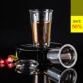 **ราคาปกติ 1,120 บาท  PRIM แก้วมัคพร้อมที่กรองชาสแตนเลส ขนาด 350 มล. (Double Wall Mug with Stainless Steel infuser) รหัสสินค้า : 8379MI0200490  - ผลิตจากแก้วบอโรซิลิเกตเป่าปาก เนื้อหนา - ทนต่อการกระแทกได้ดีกว่าแก้วทั่วไป - ทนต่อความร้อนและการเปลี่ยนแปลงอุณหภูมิได้สูง - ที่กรองชาผลิตจากสแตนเลส 18/10 ไม่เป็นสนิม - จับแล้วไม่เย็นหรือร้อนมือ ด้วยดีไซน์ให้แก้วมี 2 ชั้น - มาพร้อมฝาปิดแก้วบอโรซิลิเกต - ใส่น้ำเย็นและร้อน ที่มีอุณหภูมิตั้งแต่ -20 ถึง 150 องศาเซลเซียส - สำหรับกรองชาร้อน หรือน้ำเย็น - ขนาดความจุ 350 มล. - ขนาดสินค้า เส้นผ่านศูนย์กลาง 9 ซม. สูง 13.5 ซม. - จำนวน 1 ชิ้น/แพ็ค  คำแนะนำในการดูแลรักษา  - ควรล้างและเช็ดให้แห้งทันทีทุกครั้งหลังการใช้งาน - ใช้ได้กับไมโครเวฟ - ทำความสะอาดด้วยเครื่องล้างได้ - ไม่ควรแช่น้ำทิ้งไว้เป็นเวลานาน - เก็บรักษาในแท่นวางเมื่อไม่ใช้งาน  หมายเหตุ : สีของสินค้าที่ปรากฎ อาจมีความแตกต่างกันขึ้นอยู่กับการตั้งค่าของแต่ละหน้าจอ  ---------------------------------------------------------------- #PRIM #CUSHY #FNOUTLET #Prim #Cushy #Fnoutlet #fnoutlet #DoubleWallMug #Stainless #Mug #Glass #Glasses #Cool #Cold #Ice #Hot #Stainless #แก้วบอโรซิลิเกต #แก้วน้ำ #แก้วชา #แก้วกาแฟ #แก้วน้ำร้อน #แก้วน้ำเย็น #แก้วร้อนเย็น #แก้ว #แก้วมัค #กระบอกน้ำ #ขวดน้ำ #ที่ใส่น้ำ #ชา #กาแฟ #น้ำดื่ม #น้ำชา #เท่ห์ #โอปป้า #โอป๊ะ #อุ๊ต๊ะ #เรียบหรู #สวยใส #เกาหลี #ญี่ปุ่น #ชิค #ชิลๆ #เก๋ #กิ๊บเก๋ #น่ารัก