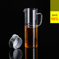 **ราคาปกติ 930 บาท  PRIM เหยือกน้ำดื่ม ขนาด 1,000 มล. (Carafe) รหัสสินค้า : 8404GW040395  เหยือกใส่น้ำจากแก้วบอโรซิลิเกตเป่าขึ้นรูปด้วยปาก งาน DIY ที่ได้คุณภาพระดับสากล ทนต่อการกระแทกได้ดีกว่าแก้วทั่วไป และยังทนต่อความร้อนและการเปลี่ยนแปลงอุณหภูมิได้สูง ไม่แตกหักง่าย ใส่ได้ทั้งน้ำร้อนและน้ำเย็น มีไว้ติดบ้านเพื่อต้อนรับแขกได้สะดวกและปลอดภัย  - ผลิตจากแก้วบอโรซิลิเกตเป่าปาก เนื้อหนา - ฝาปิดผลิตจากพลาสติกคุณภาพดี ไม่แตกหักง่าย - ทนต่อการกระแทกได้ดีกว่าแก้วทั่วไป - ทนต่อความร้อนและการเปลี่ยนแปลงอุณหภูมิได้สูง - ใส่น้ำเย็นและร้อน ที่มีอุณหภูมิตั้งแต่ -40 ถึง 120 องศาเซลเซียส - สำหรับใส่น้ำร้อนหรือน้ำเย็น - ขนาดความจุ 1,000 มล. - ขนาดสินค้า เส้นผ่านศูนย์กลาง 9.3 ซม. สูง 25.2 ซม. - จำนวน 1 ชิ้น/แพ็ค  คำแนะนำในการดูแลรักษา  - ควรล้างและเช็ดให้แห้งทันทีทุกครั้งหลังการใช้งาน - ทำความสะอาดด้วยเครื่องล้างได้ - ไม่ควรแช่น้ำทิ้งไว้เป็นเวลานาน - เก็บรักษาในแท่นวางเมื่อไม่ใช้งาน  หมายเหตุ : สีของสินค้าที่ปรากฎ อาจมีความแตกต่างกันขึ้นอยู่กับการตั้งค่าของแต่ละหน้าจอ  ---------------------------------------------------------------- #PRIM #CUSHY #FNOUTLET #Prim #Cushy #Fnoutlet #fnoutlet #Carafe #Cool #Cold #Ice #Hot #Glass #Glasses #เหยือกน้ำดื่ม #เหยือกน้ำ #เหยือก #กระบอกน้ำ #แก้วน้ำดื่ม #แก้วน้ำ #เหยือกกินน้ำ #หูจับ #แก้ว2ชั้น #แก้วร้อนเย็น #แก้วร้อน #แก้วเย็น #เท่ห์ #โอปป้า #โอป๊ะ #อุ๊ต๊ะ #เรียบหรู #สวยใส #เกาหลี #ญี่ปุ่น #ชิค #ชิลๆ #เก๋ #กิ๊บเก๋ #น่ารัก #แก้วบอโรซิลิเกต
