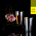 **ราคาปกติ 890 บาท  PRIM แก้วน้ำร้อนเย็น 2 ชิ้น ขนาด 240 มล. (Double Wall Set of 2 Glasses) รหัสสินค้า : 8379GW0200390  - ผลิตจากแก้วบอโรซิลิเกตเป่าปาก เนื้อหนา - ทนต่อการกระแทกได้ดีกว่าแก้วทั่วไป - ทนต่อความร้อนและการเปลี่ยนแปลงอุณหภูมิได้สูง - จับแล้วไม่เย็นหรือร้อนมือ ด้วยดีไซน์ให้แก้วมี 2 ชั้น - ใส่น้ำเย็นและร้อน ที่มีอุณหภูมิตั้งแต่ -20 ถึง 150 องศาเซลเซียส - สำหรับใส่น้ำร้อนหรือน้ำเย็น - ขนาดความจุ 240 มล. - ขนาดสินค้า เส้นผ่านศูนย์กลาง 7.5 ซม. สูง 12 ซม. - จำนวน 2 ชิ้น/แพ็ค  คำแนะนำในการดูแลรักษา  - ควรล้างและเช็ดให้แห้งทันทีทุกครั้งหลังการใช้งาน - ใช้ได้กับไมโครเวฟ - ทำความสะอาดด้วยเครื่องล้างได้ - ไม่ควรแช่น้ำทิ้งไว้เป็นเวลานาน - เก็บรักษาในแท่นวางเมื่อไม่ใช้งาน  หมายเหตุ : สีของสินค้าที่ปรากฎ อาจมีความแตกต่างกันขึ้นอยู่กับการตั้งค่าของแต่ละหน้าจอ  ---------------------------------------------------------------- #PRIM #CUSHY #FNOUTLET #Prim #Cushy #Fnoutlet #fnoutlet #DoubleWall #Glasses #Glass #Mug #Cool #Cold #Ice #Hot #แก้วน้ำ #แก้วน้ำดื่ม #แก้วน้ำชา #แก้วกาแฟ #แก้วชา #ชา #กาแฟ #น้ำดื่ม #ขวดน้ำ #กระบอกน้ำ #ที่ใส่น้ำ #ที่ใส่ชา #ที่ใส่กาแฟ #แก้วน้ำร้อน #แก้วน้ำเย็น #แก้วร้อนเย็น #แก้ว2ชั้น #เท่ห์ #โอปป้า #โอป๊ะ #อุ๊ต๊ะ #เรียบหรู #สวยใส #เกาหลี #ญี่ปุ่น #ชิค #ชิลๆ #เก๋ #กิ๊บเก๋ #น่ารัก #แก้วบอโรซิลิเกต
