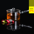 **ราคาปกติ 2,050 บาท  PRIM หม้อแก้วพร้อมฝาปิด (Glass Little Pot) รหัสสินค้า : 8379GP0100890  หม้อต้มแกงพร้อมฝาปิดจาก PRIM ผลิตจากแก้วบอโรซิลิเกตเป่าปาก ทนความร้อนได้สูงถึง 450 องศาเซลเซียส น้ำหนักเบา แต่ทนต่อการกระแทกได้ดีกว่าแก้วทั่วไป ขนาดกะทัดรัดเหมาะกับคนยุคใหม่ที่นิยมอยู่คอนโด หรือเป็นครอบครัวเล็กๆ ทำอาหารประเภทต้ม แกง ถ้วยไม่ใหญ่ พออิ่มกัน 2 คน ...สร้างชีวิตครอบครัวให้สุข ด้วยสินค้าคุณจาก PRIM  - ผลิตจากแก้วบอโรซิลิเกตเป่าปาก เนื้อหนา - ทนต่อการกระแทกได้ดีกว่าแก้วทั่วไป - ทนต่อความร้อนและการเปลี่ยนแปลงอุณหภูมิได้สูง - ทนความร้อนได้สูงถึง 450 องศาเซลเซียส - สำหรับใช้ปรุงอาหารประเภท ต้ม แกง และอื่นๆ - ขนาดความจุ 750 มล. - ขนาดสินค้า เส้นผ่านศูนย์กลาง 12.7 ซม. สูง 8 ซม. - จำนวน 1 ชิ้น/แพ็ค  คำแนะนำในการดูแลรักษา  - ควรล้างและเช็ดให้แห้งทันทีทุกครั้งหลังการใช้งาน - ใช้ได้กับไมโครเวฟ - ทำความสะอาดด้วยเครื่องล้างได้ - ไม่ควรแช่น้ำทิ้งไว้เป็นเวลานาน - เก็บรักษาในแท่นวางเมื่อไม่ใช้งาน  หมายเหตุ : สีของสินค้าที่ปรากฎ อาจมีความแตกต่างกันขึ้นอยู่กับการตั้งค่าของแต่ละหน้าจอ  ---------------------------------------------------------------- #PRIM #CUSHY #FNOUTLET #Prim #Cushy #Fnoutlet #fnoutlet #GlassLittlePot #Pot #Pan #Glass #Glasses #Mug #แก้วบอโรซิลิเกต #หม้อแก้ว #หม้อต้ม #หม้อแกง #หม้อนึ่ง #หม้อ #ฝาปิด #ฝาแก้ว #ฝาครอบแก้ว #ฝาครอบ #ผัด #ทอด #ต้ม #แกง #อาหาร #สลัด #เท่ห์ #โอปป้า #โอป๊ะ #อุ๊ต๊ะ #เรียบหรู #สวยใส #เกาหลี #ญี่ปุ่น #ชิค #ชิลๆ #เก๋ #กิ๊บเก๋ #น่ารัก