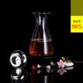 **ราคาปกติ 1,580 บาท  PRIM เหยือกน้ำดื่มพร้อมฝาสแตนเลส ขนาด 1,100 มล. (Glass Water Bottle with Stainless Steel Lid) รหัสสินค้า : 8379GW0100690  - ผลิตจากแก้วบอโรซิลิเกตเป่าปาก เนื้อหนา - ทนต่อการกระแทกได้ดีกว่าแก้วทั่วไป - ทนต่อความร้อนและการเปลี่ยนแปลงอุณหภูมิได้สูง - ฝาปิดผลิตจากสแตนเลสไม่เป็นสนิม หุ้มด้วยซิลิโคนกันน้ำหก - ดีไซน์ฝาปิดทรงกรวย กรองน้ำได้จริง เติมน้ำ แล้วน้ำไม่หกเลอะเทอะ - ใส่น้ำเย็นและร้อน ที่มีอุณหภูมิตั้งแต่ -20 ถึง 150 องศาเซลเซียส - สำหรับใส่น้ำร้อนหรือน้ำเย็น - ขนาดความจุ 1,100 มล. - ขนาดสินค้า เส้นผ่านศูนย์กลาง 12 ซม. สูง 21.5 ซม. - จำนวน 1 ชิ้น/แพ็ค  คำแนะนำในการดูแลรักษา  - ควรล้างและเช็ดให้แห้งทันทีทุกครั้งหลังการใช้งาน - ทำความสะอาดด้วยเครื่องล้างได้ - ใช้กับไมโครเวฟได้ - ไม่ควรแช่น้ำทิ้งไว้เป็นเวลานาน - เก็บรักษาในแท่นวางเมื่อไม่ใช้งาน  หมายเหตุ : สีของสินค้าที่ปรากฎ อาจมีความแตกต่างกันขึ้นอยู่กับการตั้งค่าของแต่ละหน้าจอ  ---------------------------------------------------------------- #PRIM #CUSHY #FNOUTLET #Prim #Cushy #Fnoutlet #fnoutlet #GlassWaterBottle #StainlessSteelLid #Glass #Water #Bottle #Stainless #Lid #Glasses #Mug #เหยือกน้ำ #เหยือกน้ำดื่ม #สแตนเลส #สเตนเลส #ฝาปิด #ฝา #กระบอกน้ำ #กาน้ำ #พลาสติก #แก้ว #แก้วน้ำดื่ม #เหยือกน้ำชา #แก้วชา #แก้วกาแฟ #ที่ใส่น้ำ #ที่ใส่ชา #เหยือกน้ำร้อนเย็น #ที่เก็บน้ำร้อนเย็น #เท่ห์ #โอปป้า #โอป๊ะ #อุ๊ต๊ะ #เรียบหรู #สวยใส #เกาหลี #ญี่ปุ่น #ชิค #ชิลๆ #เก๋ #กิ๊บเก๋ #น่ารัก #แก้วบอโรซิลิเกต