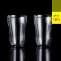 **ราคาปกติ 1,050 บาท  PRIM ชุดแก้วร้อนเย็น 2 ชิ้น ขนาด 350 มล. (Double Wall Glass Cup Set) รหัสสินค้า : 8404GW020550  แก้วน้ำ PRIM ให้คุณมีความสุขในการดื่มน้ำ ด้วยดีไซน์แบบ 2 ชั้น ใส่น้ำร้อน หรือน้ำเย็น ก็ไม่มีผลต่อการจับแก้วด้วยมือเปล่า เพราะแก้วชั้นนอกแยกส่วนกับแก้วชั้นใน ทำให้ความร้อนไม่กระจายตัวถึงมือ และยังแข็งแรง ทนต่ออุณหภูมิได้ตั้งแต่ -20 ถึง 150 องศาเซลเซียส ให้คุณหยิบจับโดยไม่ร้อนมือ ใช้งานได้ยาวนาน และคุ้มค่ายิ่งกว่า  - ผลิตจากแก้วบอโรซิลิเกตเป่าปาก เนื้อหนา - ทนต่อการกระแทกได้ดีกว่าแก้วทั่วไป - ทนต่อความร้อนและการเปลี่ยนแปลงอุณหภูมิได้สูง - จับแล้วไม่เย็นหรือร้อนมือ ด้วยดีไซน์ให้แก้วมี 2 ชั้น - จับกระชับถนัดมือ ไม่ลื่นหลุดด้วยรูปทรงเว้าโค้งนาฬิกาทรายตรงกลางแก้ว - ใส่น้ำเย็นและร้อน ที่มีอุณหภูมิตั้งแต่ -20 ถึง 150 องศาเซลเซียส - สำหรับใส่น้ำร้อนหรือน้ำเย็น - ขนาดความจุ 350 มล. - ขนาดสินค้า เส้นผ่านศูนย์กลาง 9 ซม. สูง 14 ซม. - จำนวน 2 ชิ้น/แพ็ค  คำแนะนำในการดูแลรักษา  - ควรล้างและเช็ดให้แห้งทันทีทุกครั้งหลังการใช้งาน - ใช้ได้กับไมโครเวฟ - ทำความสะอาดด้วยเครื่องล้างได้ - ไม่ควรแช่น้ำทิ้งไว้เป็นเวลานาน - เก็บรักษาในแท่นวางเมื่อไม่ใช้งาน  หมายเหตุ : สีของสินค้าที่ปรากฎ อาจมีความแตกต่างกันขึ้นอยู่กับการตั้งค่าของแต่ละหน้าจอ  ---------------------------------------------------------------- #PRIM #CUSHY #FNOUTLET #Prim #Cushy #Fnoutlet #fnoutlet #DoubleWall #Glass #Cup #Glasses #Mug #แก้วบอโรซิลิเกต #แก้ว #แก้วน้ำดื่ม #แก้วชา #แก้วกาแฟ #กาแฟ #ชา #แก้วร้อนเย็น #แก้วน้ำร้อน #แก้วน้ำเย็น #แก้ว2ชั้น #เท่ห์ #โอปป้า #โอป๊ะ #อุ๊ต๊ะ #เรียบหรู #สวยใส #เกาหลี #ญี่ปุ่น #ชิค #ชิลๆ
