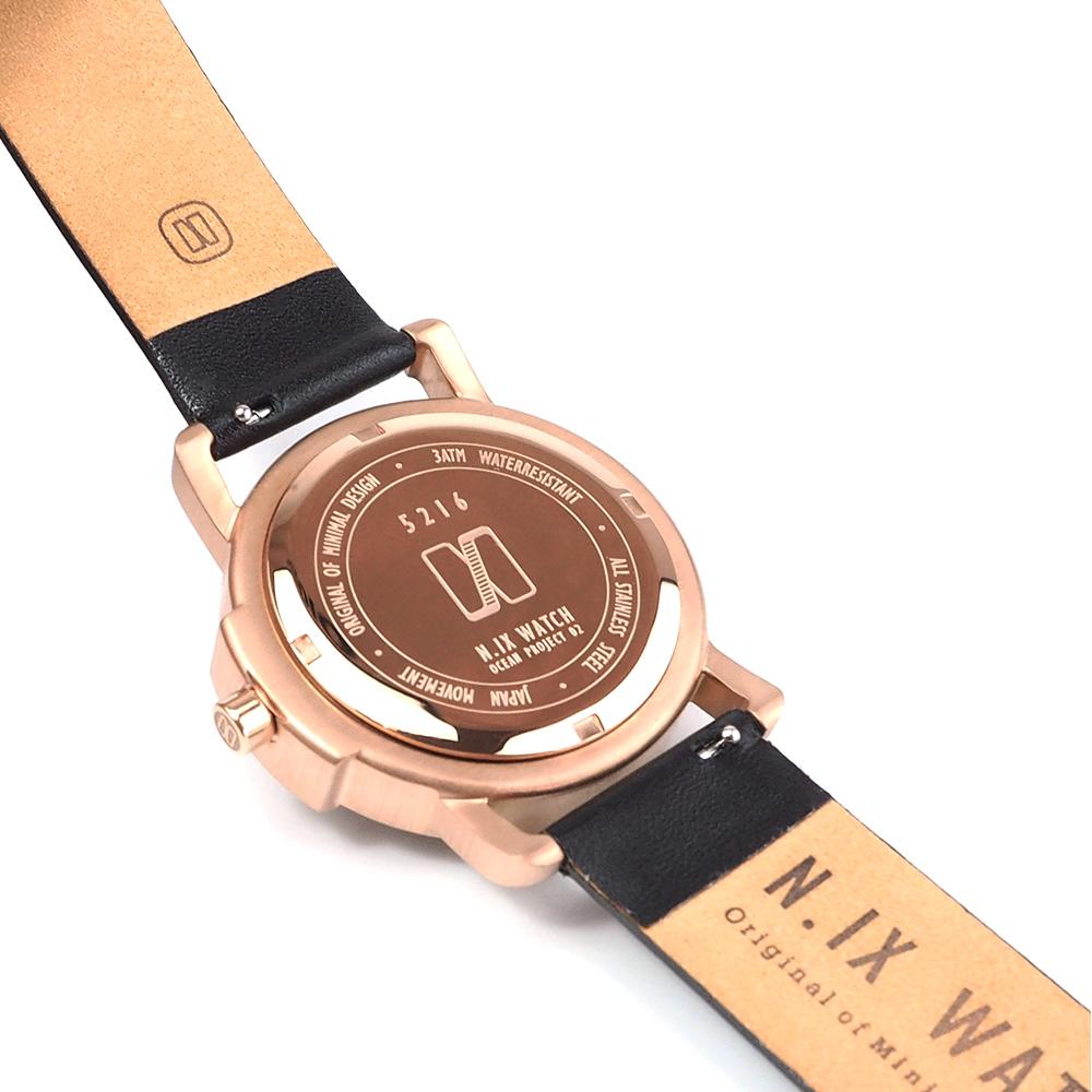 ฟรีจัดส่ง,NIXwatch,NIXstudio,OceanProject,Minimalwatches,stainless,mesh,leather,giftset,Unisex,gift,Metallic,present,black,navy,blue,gold,rosegold
