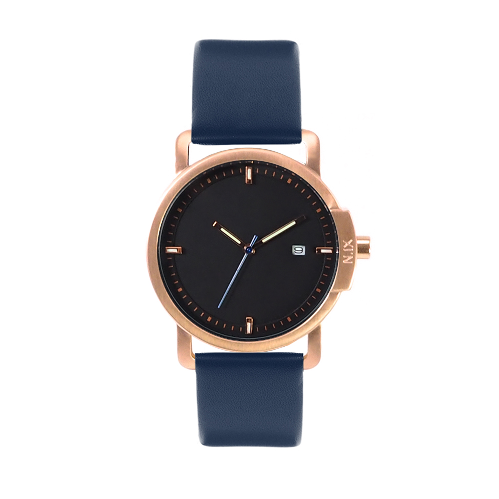 ฟรีจัดส่ง,NIXwatch,NIXstudio,OceanProject,Minimalwatches,stainless,mesh,leather,giftset,Unisex,gift,Metallic,present,black,navy,blue,gold,rosegold