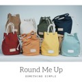 "Round me up   Our signature item with original design, yet best selling, drawstring bucket bag with adjustable handling style comes in various color choices Material: cotton canvas 14oz.+ cotton round rope + cotton sash + leather label Size: H12.5"" - W14"" (44"" sash)  รุ่นยอดนิยม ที่สามรถเปลี่ยนใช้ได้หลายทรง  กระเป๋าทรงก้นกลม bucket bag ผ้า cotton canvas 14oz. ปรับสายใช้ได้หลายทรง     VDO สาธิตการปรับสาย Round me up 1&2  >> https://www.facebook.com/somethingsimple.shop/videos/vb.175372995982815/336978076488972/?type=3&theater  #SomethingSimple"