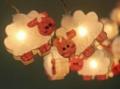 โคมไฟน้องแกะ ประดับห้อง มี 20 ตัว น่ารัก มุ้งมิ้ง