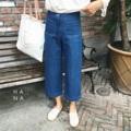 """❁ Kylie Jeans กางเกงยีนส์ ทรงห้าส่วนขากว้าง มีกระเป็าด้านหน้าสองข้าง ผ้าดีอยู่ทรงสวย ใส่กับเสื้อเชิ้ตหรือเสื้อยืดน่ารักมาก - - - - - - - - - - - - •• มี 2 สี : สียีนส์เข้ม, สียีนส์อ่อน •• Size S : ยาว 33"""" เอว 26"""" สะโพก 33"""" •• Size M : ยาว 33"""" เอว 28"""" สะโพก 35"""" •• Size L : ยาว 33.5"""" เอว 29"""" สะโพก 37"""" •• ราคา 990 บาท"""