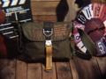 """Polo Goden""Street fashion Army Crossbody Bag. --------------------------------------- เท่ห์ๆสไตล์อาร์มี่ สะพายข้าง Size M บอดี้ผ้าร่มหนาสีเขียวทหาร อะไหล่อลู ฝาปิดกาวหนาแน่น กระเป๋าคู่ด้านข้าง สามารถใส่zippo ได้ช่องกลางปิดเซฟด้วยซิป สายสะพายหนา ยาวสุดโต่ง สามารถปรับระดับได้ด้วยหูคล้องด้านข้าง สภาพ90% ไม่มีขาดผิวสวยครับ Marerial :: Heavy Nylon Size กว้าง(W)29xสูง(H)24xลึก(D)8.5CM. Price 800-THB ค่าส่งลงทะเบียน 50฿ สนใจรายละเอียดเพิ่มเติมได้ครับ 24Hr. Line  nudtys Page https://m.facebook.com/A1920BagsVintage Phone Num. 0932426519 ------------------------------------------ #used #vintagestyle #vintageshop #vintagebag #leatherbag #bags #bagshop #วินเทจ #กระเป๋าเดินทาง #มือสอง #pattaya #กระเป๋าหนัง #กระเป๋าเป้ #กระเป๋าเป้สะพายหลัง #กระเป๋าเดินทาง #backpack #backpacking #backpacker  #กระเป๋าเท่ห์ #กระเป๋าเท่ห์ๆแบบวัวตายควายล้ม #streetfashion #militarystyle #A1920s"