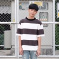 ~ STRIPED ~ Jack a dandy Oversized T-shirt  Designed for everyday wear, this simple t-shirt is a relaxed fit with comfortable oversized proportions.  #jackadandy #jackadandyshop #tshirt #oversize #oversizedshirt #JACKADANDY