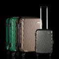 **ราคาปกติ 6,375 บาท  Rollica กระเป๋าเดินทาง (ABS Trolley Luggage) 20 นิ้ว รหัสสินค้า : 8337ABS02GL1202550 รหัสสินค้า : 8337ABS02GY2202550 รหัสสินค้า : 8337ABS02GN1202550  - กระเป๋าเดินทางพลาสติก ABS แข็งแรง ทนทาน - ป้องกันการเปียกน้ำได้ดีเยี่ยม - ล้อเลื่อน 4 ล้อ นิ่ม เบา ลากง่าย - คันลากปรับได้ 2 ระดับ พร้อมหูหิ้ว สะดวกในการเคลื่อนย้ายหรือหิ้ว - มีหูหิ้วทั้งแบบตั้งและแบบนอน - ระบบล็อคแบบ TSA ป้องกันสิ่งของสูญหาย - พร้อมใบรับประกันสินค้า - ควรเก็บให้ห่างจากเปลวไฟ - มีให้เลือก 3 สี คือ สีน้ำตาล / สีเทาดำ / สีเขียว - ขนาดสินค้า 20 นิ้ว - จำนวน 1 ใบ/แพ็ค  หมายเหตุ : สีของสินค้าที่ปรากฎ อาจมีความแตกต่างกันขึ้นอยู่กับการตั้งค่าของแต่ละหน้าจอ  **รอบระยะเวลาในการสั่งซื้อ-จัดส่ง - ตัดยอดทุกวันพฤหัสบดี เวลา 12.00 น. และจะจัดส่งให้วันอังคารของสัปดาห์ถัดไป ---------------------------------------------------------------- #PRIM #CUSHY #FNOUTLET #Prim #Cushy #Fnoutlet #fnoutlet #Rollica #Luggage #Trolley #กระเป๋าเดินทาง #กระเป๋า #กระเป๋าล้อลาก #กระเป๋าถือ #กระเป๋าเป้ #กระเป๋าสะพายหลัง #เครื่องบิน #รถยนต์ #รถทัวร์ #ล้อลาก #รถเข็นกระเป๋า #หูหิ้ว #คันลาก #ถุงเก็บ #สายรัด #ตาชั่ง #ที่ชั่ง #ใส่เสื้อผ้า