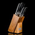 **ปกติราคา 6,890 บาท  PRIM ชุดมีดพร้อมแท่นวาง (Knife set with wooden block) รหัสสินค้า : 8386KS01  - แท่นวางมีดหรือแท่นเก็บมีดผลิตจากไม้เนื้อแข็ง ใช้งานได้ทนทาน - ใบมีดผลิตจากแสตนเลสตีลเนื้อหนา - ด้ามจับพลาสติกแข็ง  ในชุดประกอบด้วย  - แท่นวาง ขนาด 10.5 x 13.5 x 23 ซม. - มีดเชฟ ขนาด 8 นิ้ว - มีดหั่นขนมปัง ขนาด 8 นิ้ว - มีดหั่น ขนาด 8 นิ้ว - มีดอเนกประสงค์ ขนาด 5 นิ้ว - มีดปลอกเปลือก ขนาด 3.5 นิ้ว - จำนวน 1 ชุด/กล่อง  คำแนะนำในการดูแลรักษา  - ควรล้างทุกครั้งก่อนและหลังการใช้งาน - ไม่ควรปล่อยให้มีดแช่น้ำเป็นเวลานาน - ไม่ควรใช้มีดหั่นบนพื้นผิวแก้วหรือเซรามิค - ควรเก็บให้พ้นมือเด็ก  หมายเหตุ : สีของสินค้าที่ปรากฎ อาจมีความแตกต่างกันขึ้นอยู่กับการตั้งค่าของแต่ละหน้าจอ  **รอบระยะเวลาในการสั่งซื้อ-จัดส่ง - ตัดยอดทุกวันพฤหัสบดี เวลา 12.00 น. และจะจัดส่งให้วันอังคารของสัปดาห์ถัดไป ---------------------------------------------------------------- #CUSHY #PRIM #CHERISH #FNOUTLET #fnoutlet #Knife #Wooden #Block #มีด #มีดหั่น #มีดปลอกเปลือก #มีดเชฟ #มีดอเนกประสงค์ #มีดหั่นขนมปัง #มีดคว้าน #ใบมีด #แท่นวางมีด #แท่นเสียบมีด #ที่วางมีด #ไม้เสียบมีด #ไม้วางมีด