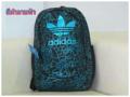 สินค้า Outlet ของแท้ Brand : ✵ Adidas ✵ Size : 48x32x16 cm. Material : 100% Polyester กันน้ำ Bags hardness : Soft Cover Lining Material : Polyester Internal Structure : zipper pocket มีช่องสำหรับใส่ Notebook , Tablet ในตัวกระเป๋า สายเป้ และด้านหลังบุผ้าตาข่ายนุ่ม รองรับหลัง  รูปแบบสวยทันสมัย รองรับทุกการใช้งาน เป็นกระเป๋าเป้นักเรียน-เป้กีฬา-สะพายเที่ยวชิลๆ เลยค้า ❮IQ❯ ⇝⇝⇝⇝⇝⇝⇝⇝⇝⇝⇝⇝⇝ สนใจติดต่อ ID Line ≈ 0915415982 Tel. ≈ 0915415982 [Dear]