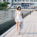 "Floral Dress 🌺 ผ้าคอตตอนพิมพ์ลาย ใส่สบายๆ ได้ลุคใสๆแอบเซ็กซี่ เหมาะกับไปเที่ยวหน้าร้อนสุดๆ สีฟ้ากับน้ำเงินหมดแล้วนะคะ ใครอยากได้รีบเลย!! ♡ Price : 390 บาท ♡ White / Pink ♡ Size : อก 34"" เอว/สะโพกฟรีไซส์ ยาว 31"" #SoPearlCloset"