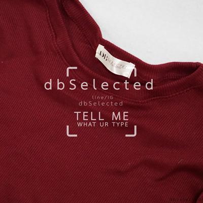 Summer,dbselected,เสื้อปาดไหล่,dbSelected