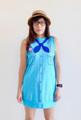 ผ้า 100% Cotton (20)  Free Size รอบอก: 38″ ความยาว: 29.5″ ไหล่: 12″ ความกว้างแขน 10″  Note - ผ้าสำหรับชุดเดรสจะใช้ผ้าที่หนากว่าผ้าสำหรับเสื้อยืด - สีเสื้อในรูปอาจจะแตกต่างจากสีเสื้อจริง - ขนาดชุดเป็นขนาดโดยประมาณ เนื่องจากเป็นงานทำมืออาจมีความคลาดเคลื่อนได้ - จัดส่งสินค้าทุกวันพุธ วันศุกร์ และวันอาทิตย์