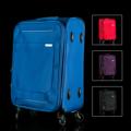 **ราคาปกติ 3,100 บาท  Rollica กระเป๋าเดินทาง (Trolley Luggage) 20 นิ้ว รหัสสินค้า : 8337NYJ04NB1201550 รหัสสินค้า : 8337NYJ04BK1201550 รหัสสินค้า : 8337NYJ03RD1201550 รหัสสินค้า : 8337NYJ03VI1201550  - กระเป๋าตัดเย็บจากไนล่อนอย่างดี - มีช่องเก็บสิ่งของต่างๆ มากกว่า 3 ช่อง เก็บได้เยอะกว่า - ล้อเลื่อน 4 ล้อ นิ่ม เบา ลากง่าย - คันลากปรับได้ 2 ระดับ พร้อมหูหิ้ว สะดวกในการเคลื่อนย้ายหรือหิ้ว - ระบบล็อคแบบ TSA ป้องกันสิ่งของสูญหาย - พร้อมใบรับประกันสินค้า - มีให้เลือก  4 สี คือ สีฟ้า สีดำ สีแดง และสีม่วง - ขนาดสินค้า 20 นิ้ว - จำนวน 1 ใบ/แพ็ค  หมายเหตุ : สีของสินค้าที่ปรากฎ อาจมีความแตกต่างกันขึ้นอยู่กับการตั้งค่าของแต่ละหน้าจอ  **รอบระยะเวลาในการสั่งซื้อ-จัดส่ง - ตัดยอดทุกวันพฤหัสบดี เวลา 12.00 น. และจะจัดส่งให้วันอังคารของสัปดาห์ถัดไป ---------------------------------------------------------------- #PRIM #CUSHY #FNOUTLET #Prim #Cushy #Fnoutlet #fnoutlet #Rollica #Luggage #Trolley #กระเป๋าเดินทาง #กระเป๋า #กระเป๋าล้อลาก #กระเป๋าถือ #กระเป๋าเป้ #กระเป๋าสะพายหลัง #เครื่องบิน #รถยนต์ #รถทัวร์ #ล้อลาก #รถเข็นกระเป๋า #หูหิ้ว #คันลาก #ถุงเก็บ #สายรัด #ตาชั่ง #ที่ชั่ง #ใส่เสื้อผ้า