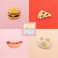 Fastfood Collection  Price :: 200.- / Piece เข็มกลัดน่ารักๆ พร้อมส่ง #pins #pinoftheday #pinpinpapa