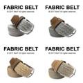 "Fabric Belt เข็มขัดผ้าไนล่อน   เข็มขัดผ้าไนล่อน ยืดได้ ไม่ต้องเจาะรู ลายสวย มีเอกลักษณ์ เข้ากับเสื้อผ้าได้หลายสไตล์ จะลุกจะนั่งก็สบาย ยืดหยุ่นตามการเคลื่อนไหวค่า  Price: 390฿ ความยาวก่อนยืด 43""  สี: สีเงิน, เทา, น้ำตาลอ่อน, ทองหม่น  #เข็มขัด #เข็มขัดแฟชั่น #เข็มขัดผ้า #belt #mensfashion #accessories #MorfClothes"