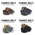 """Fabric Belt เข็มขัดผ้าไนล่อน   เข็มขัดผ้าไนล่อน ยืดได้ ไม่ต้องเจาะรู ลายสวย มีเอกลักษณ์ เข้ากับเสื้อผ้าได้หลายสไตล์ จะลุกจะนั่งก็สบาย ยืดหยุ่นตามการเคลื่อนไหวค่า  Price: 390฿ ความยาวก่อนยืด 43""""  สี: น้ำตาลขาว, กรมขาว, เขียวขาว, ดำเทา  #เข็มขัด #เข็มขัดแฟชั่น #เข็มขัดผ้า #belt #mensfashion #accessories #MorfClothes"""