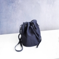 Bucket bag  Available in  Black/White/Navy/DarkGrey  Material: canvas and linin bag size 23*29*15 cm