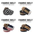 """Fabric Belt เข็มขัดผ้าไนล่อน   เข็มขัดผ้าไนล่อน ยืดได้ ไม่ต้องเจาะรู ลายสวย มีเอกลักษณ์ เข้ากับเสื้อผ้าได้หลายสไตล์ จะลุกจะนั่งก็สบาย ยืดหยุ่นตามการเคลื่อนไหวค่า  Price: 390฿ ความยาวก่อนยืด 43""""  สี: ขาวดำ, น้ำเงินขาวชมพู, กรมน้ำตาล, กรมขาวน้ำตาล  #เข็มขัด #เข็มขัดแฟชั่น #เข็มขัดผ้า #belt #mensfashion #accessories #MorfClothes"""