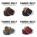 "Fabric Belt เข็มขัดผ้าไนล่อน   เข็มขัดผ้าไนล่อน ยืดได้ ไม่ต้องเจาะรู ลายสวย มีเอกลักษณ์ เข้ากับเสื้อผ้าได้หลายสไตล์ จะลุกจะนั่งก็สบาย ยืดหยุ่นตามการเคลื่อนไหวค่า  Price: 390฿ ความยาวก่อนยืด 43""  สี: น้ำตาลดำขาว, กรมเทา, ขาวคาดดำ, แดงเลือดหมู  #เข็มขัด #เข็มขัดแฟชั่น #เข็มขัดผ้า #belt #mensfashion #accessories #MorfClothes"