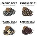 """Fabric Belt เข็มขัดผ้าไนล่อน   เข็มขัดผ้าไนล่อน ยืดได้ ไม่ต้องเจาะรู ลายสวย มีเอกลักษณ์ เข้ากับเสื้อผ้าได้หลายสไตล์ จะลุกจะนั่งก็สบาย ยืดหยุ่นตามการเคลื่อนไหวค่า  Price: 390฿ ความยาวก่อนยืด 43""""  สี: เทาขาว, กรมเขียวครีมน้ำตาล, เทาครีม, แดงเทา #เข็มขัด #เข็มขัดแฟชั่น #เข็มขัดผ้า #belt #mensfashion #accessories #MorfClothes"""