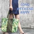 "🌤Summer Fun!🌤 🔸Dimensions : Width x Height x Depth 18""x 12""x 6"" 🔸Price : 420.-  -------------------------------------------------- #summer #summerbag #bag #bags #canvas #canvasbag #totebag #ถ่ายจากสินค้าจริง #beach #style #fashion #streetstyle #LapinDesigns #กระเป๋า #กระเป๋าผ้า #กระเป๋าผู้หญิง #กระเป๋าถือ"