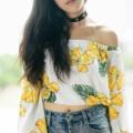 👗 Chaba off-shoulder top สีสันรับซัมเมอร์ สีเหลืองดอกชบาสไตล์ฮาวาย แขนบานกว้างนิดๆ ช้อปเลยย ไอเท็มส์น่ารักพร้อมรับแดด ให้สาวๆใส่ขึ้นกล้องฉุดฉุด  color: ขาว l ดำ size: freesize  price: 290.- free shipping   ---------------------------------------------------- #duckhood #women #ผู้หญิง #เสื้อผ้าผู้หญิง #เสื้อผู้หญิง #เสื้อปาดไหล่ #เสื้อเปิดไหล่ #ปาดไหล่