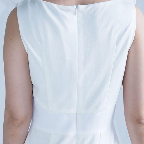 dress,white,lavahugp,japan,tokyo,kyoto,ruffles,simple,office