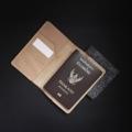 กระเป๋าพาสปอร์ต  หนังเเท้  ขนาด 10 cm x 14.5 cm. มีช่องเก็บพาสปอร์ต ช่องใส่บัตร ใส่ตั๋วเดินทาง  สินค้าเป็นแบบ Made to order  สามารถสั่งทำ เลือกสีหนัง สีด้าย ตามความต้องการได้ ระยะเวลาก่อนผลิต 5-7 วัน