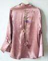 """Botun Pyjamas top เสื้อเชิ้ตสไตล์ชุดนอน มากี่ครั้งก็หมด re-stock แล้วน้ะคะ ผ้าเงาสวยมาก แถมงานปักลายดอกฝิ่น สวยมากๆเลยก้า color: ชมพู กรม ขาว size: freesize อกได้ถึง 41"""" price: 490.- free shipping  #เสื้อเชิ้ต #เสื้อเชิ้ตผู้หญิง #เสื้อเชิ้ตแขนยาว #เสื้อแขนยาว #แขนยาว #เสื้อเชิ้ตคอปก"""