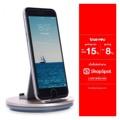 แท่นชาร์ต iPhone สามารถนำมาเป็นแท่นวางโทรศัพท์ได้ ใช้ชาร์ตได้ทั้ง  iPhone5/5s/SE iPhone6/6Plus iPhone6s/6sPlus iPhone7/7Plus  ในกล่องประกอบด้วย - แท่นชาร์ต HOCO - สายชาร์ต iPhone 1 เมตร