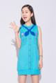 ผ้า 100% Cotton (20)  Free Size รอบอก: 38″ ความยาว: 29.5″ ไหล่: 12″ ความกว้างแขน 10″  Note - ผ้าสำหรับชุดเดรสจะใช้ผ้าที่หนากว่าผ้าสำหรับเสื้อยืด - สีเสื้อในรูปอาจจะแตกต่างจากสีเสื้อจริง - ขนาดชุดเป็นขนาดโดยประมาณ เนื่องจากเป็นงานทำมืออาจมีความคลาดเคลื่อนได้ - จัดส่งสินค้าทุกวันพุธ วันศุกร์ และวันอาทิตย์  --------------------------------------------------- #women #ผู้หญิง #เสื้อผ้าผู้หญิง #เดรส #เดรสแขนกุด