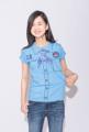 """Girl Guides T-shirt เสื้อยืดผู้บำเพ็ญประโยชน์ Unisex สำหรับชายและหญิง  ผ้า Cotton 100%  Available Size : (ขนาดโดยประมาณ) S : รอบอก 34"""" ยาว 21.5"""" M : รอบอก 38"""" ยาว 22.5"""" L : รอบอก 40"""" ยาว 23.5""""  XL : รอบอก 42"""" ยาว 24.5""""  XXL : รอบอก 44"""" ยาว 25.5""""   Size + Fit นางแบบใส่เสื้อไซส์ S / นายแบบใส่เสื้อไซส์ M  Note สีเสื้อในรูปอาจจะแตกต่างจากสีเสื้อจริง จัดส่งสินค้าทุกวันพุธ และวันอาทิตย์ ขนาดเสื้อจากชาร์ตรูปเป็นขนาดโดยประมาณ"""