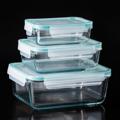 PRIM กล่องแก้วถนอมอาหาร เซท 3 ชิ้น (Glass Food Container Rectangle Shape Set of 3 PCS) รหัสสินค้า : 8388GF010690  ราคาสินค้า : 780 บาท ค่าจัดส่งประเภท EMS : 100 บาท รวมทั้งสิ้น : 880 บาท  รายละเอียดสินค้า  - ผลิตจากแก้วบอโรซิลิเกตเป่าปาก เนื้อหนา - ทนต่อการกระแทกได้ดีกว่าแก้วทั่วไปถึง 3 เท่า - ทนต่อความร้อนและการเปลี่ยนแปลงอุณหภูมิได้สูง - ฝาปิดแบบ Snap-lock เสริมด้วยซิลิโคนด้านใน ปิดแน่นสนิม - ป้องกันอากาศเข้า และลดการระเหยของน้ำ จึงเก็บรักษาอาหารให้มีความสดได้ยาวนานขึ้น - ปราศจากสารก่อมะเร็ง (BPA free) ไม่เป็นอันตรายต่อสุขภาพ - ไม่ติดสี ไม่ติดกลิ่น ทำความสะอาดง่าย ไร้กลิ่นอับชื้อ - ใส่ได้ทั้งอาหารร้อนและเย็น ที่มีอุณหภูมิตั้งแต่ -4 ถึง 230 องศาเซลเซียส - ใส่อาหารร้อนด้วยอุณหภูมิ 120 องศาเซลเซียส แล้วนำเข้าตู้เย็นได้ทันที - สำหรับใส่ผัก ผลไม้ และอาหารร้อน/เย็น - จำนวน 3 ชิ้น/แพ็ค  อุปกรณ์ภายในชุด  - กล่องเล็ก ขนาดความจุ 0.4 ลิตร - กล่องปานกลาง ขนาดความจุ 0.9 ลิตร - กล่องใหญ่ ขนาดความจุ 1.9 ลิตร  คำแนะนำในการดูแลรักษา  - ใช้ได้กับไมโครเวฟ ยกเว้นฝาก - ทำความสะอาดด้วยเครื่องล้างได้ โดยวางไว้บนสุด - ไม่ควรแช่น้ำทิ้งไว้เป็นเวลานาน  หมายเหตุ : สีของสินค้าที่ปรากฎ อาจมีความแตกต่างกันขึ้นอยู่กับการตั้งค่าของแต่ละหน้าจอ  ---------------------------------------------------------------- #PRIM #CUSHY #FNOUTLET #Prim #Cushy #Fnoutlet #fnoutlet #RectangleShape #Glass #Glasses #Food #Hot #Cool #Cold #Ice #กล่องถนอมอาหาร #กล่องแก้ว #กล่องบรรจุอาหาร #กล่องอาหาร #กล่องสูญญากาศ #กล่องสี่เหลี่ยม #อาหารแช่แข็ง #กล่องร้อนเย็น #ที่ใส่อาหาร #แก้วบอโรซิลิเกต