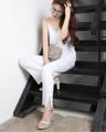 """Classic outfit Set : สายเดี่ยว ""  ชุดSet ราคาสบายๆ กระเป๋า (790.-/ Set) ใส่สวยทุกคน เสื้อมี สายเดี่ยว และ แขนกุด เอาใจสาวๆ ทุกสไตล์ เน้นผ้าใส่สบาย เช่นเคยจ้า   > Free size > Color : Black , White  > Top : สายเดี่ยว > Pant : ขายาว  >> Price : 790.- / Set ชุดเซทสุดคุ้มมมมมม ผ้าใส่สบายมากๆ  --------------------------------------------- #women #ผู้หญิง #เสื้อผ้าผู้หญิง #เสื้อผู้หญิง #เสื้อสายเดี่ยว #กางเกง #กางเกงขายาว #กางเกงผู้หญิง #กางเกงขายาวผู้หญิง"
