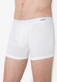 """Boxer Brief Musculine Charm  """"ใส่สบาย ลดปัญหาการเสียดสีระหว่างขอบกางเกงในกับต้นขา"""" Boxer Brief Musculine Charm ทอด้วย Combed Cotton 100% ซึ่งระบายอากาศดีขึ้น ไม่ร้อน ไม่อบ กระชับ มั่นใจ ใส่บาย"""