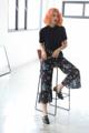 "🎋 Nihon bamboo trousers กางเกงลายไผ่ และดอกซากุระญี่ปุ่นสุดน่ารัก ดีเทลปลายกางเกงบานๆ น่ารักที่สุดด เนื้อผ้าชีฟองอย่างดีดีดี ใส่สบายมากเลยค่ารับรองง . size: S เอวยืด 21-32"" สะโพก 34"" ยาว 33"" M เอวยืด 23-34"" สะโพก 38"" ยาว 33"" 🔖 price: 490.- free ems"